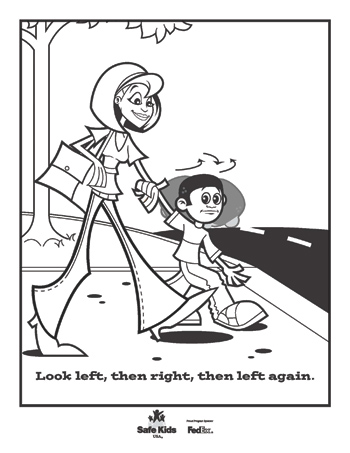 Internet Safety Coloring Pages Miakenasnet